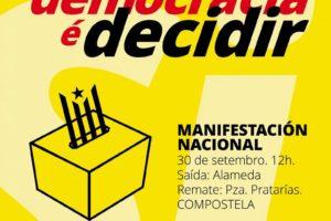 Cartaz Mani Galiza Con Catalunya