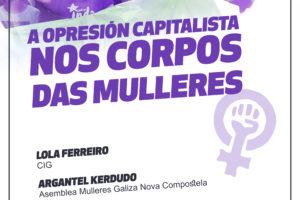 A opresión capitalista nos corpos das mulleres