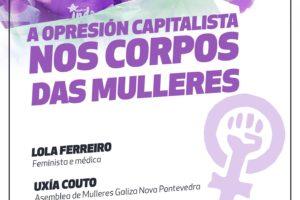 acto opresión capitalista nos corpos das mulleres pontevedra