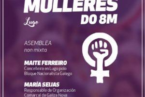 Editábel – MULLERES 8M 2018 – Lugo