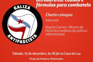 Acto antifascista Pontevedra