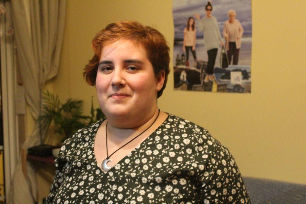Iria Carreira, integrante da Comisión Permanente de Galiza Nova e médica residente