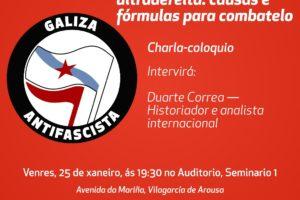 Acto Antifascista Vilagarcía
