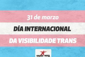 31 de marzo día da visibilidade trans
