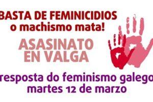 Concentracións feminicidio Valga