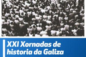 Cartaz das XXI Xornadas de Historia de Galiza Nova